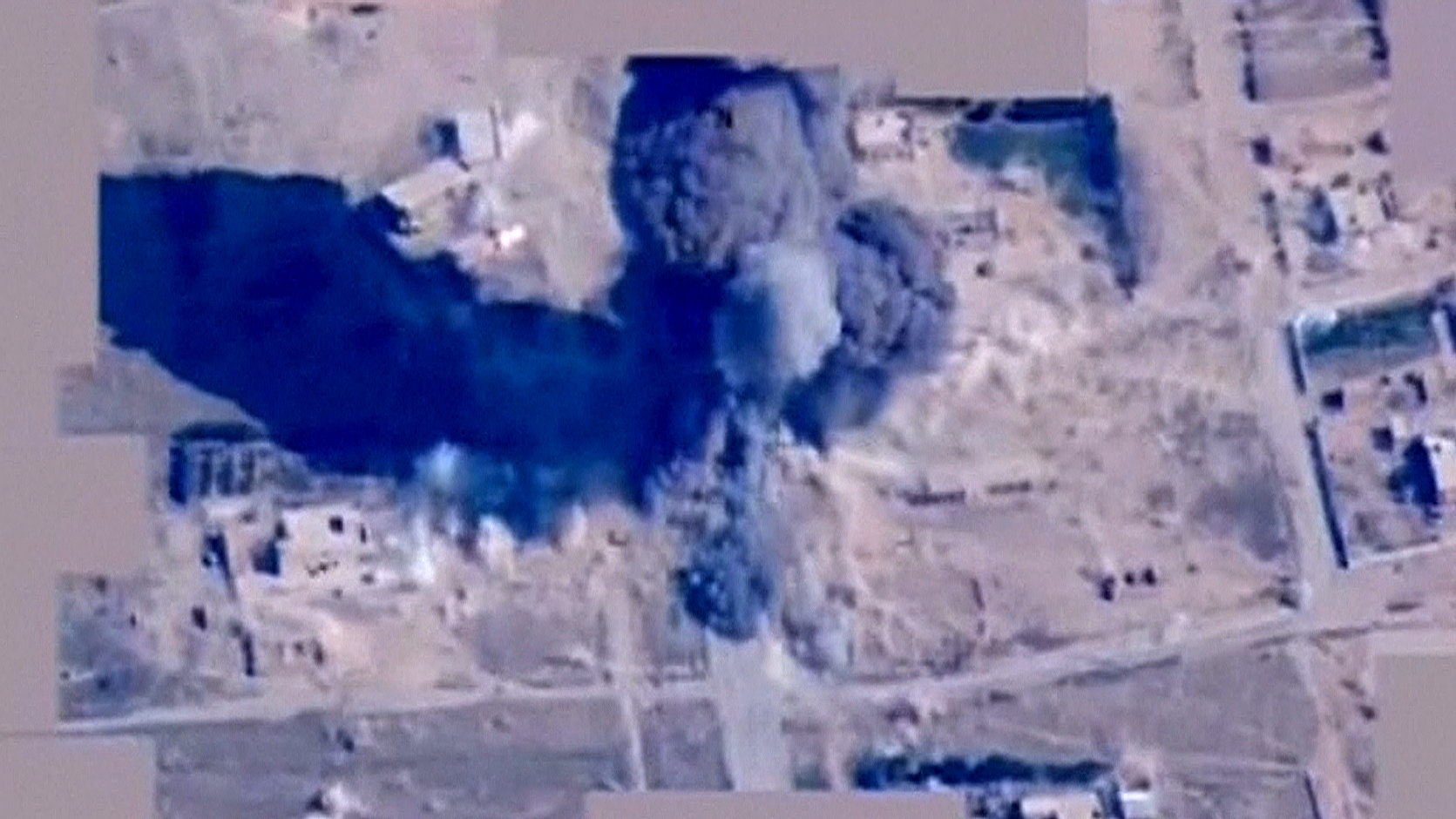 Watch: U.S. Airstrikes Hit ISIS Armored Vehicle